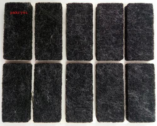 Подушки войлочные на мебельные стулья 100 шт черные