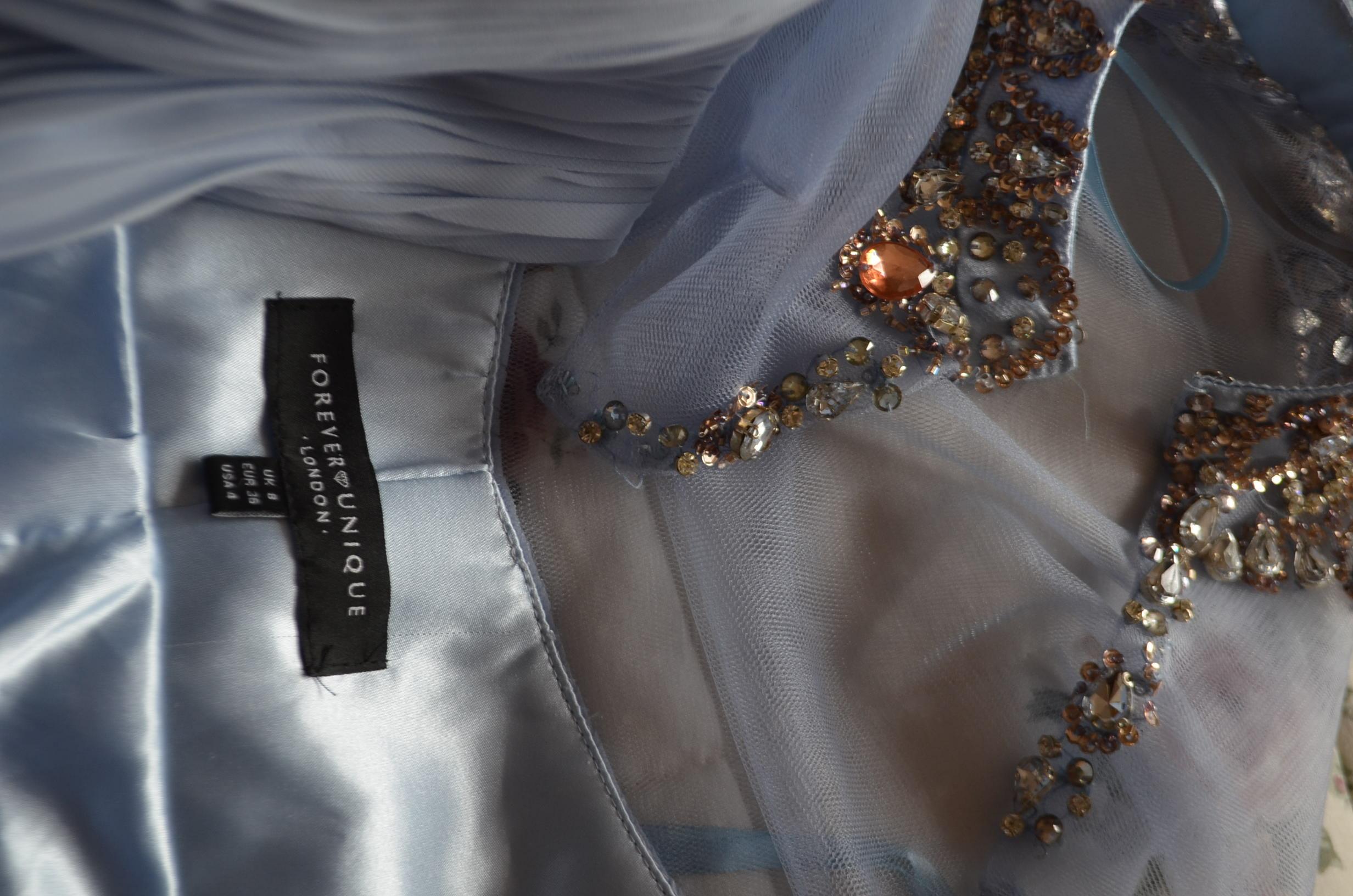 sukienka wesele ślub cyrkonie Forever Unique 36S
