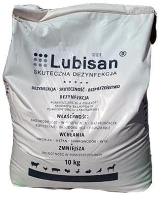 LUBISAN 10kg sucha dezynfekcja drób, kury, indyki