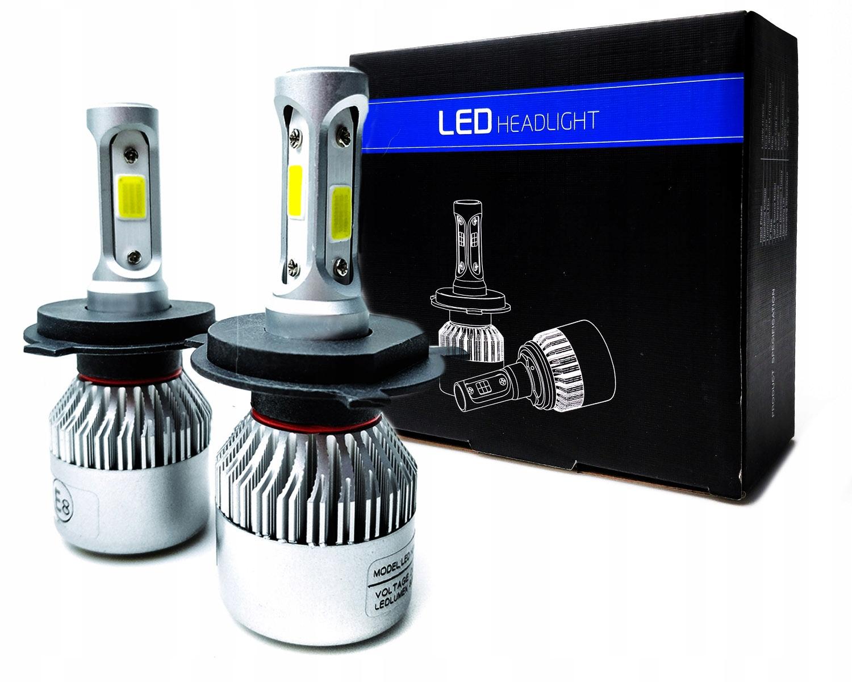 светодиодная лампа h1 h3 h4 h7 h8 h11 hb3 hb4 hb5 16000lm