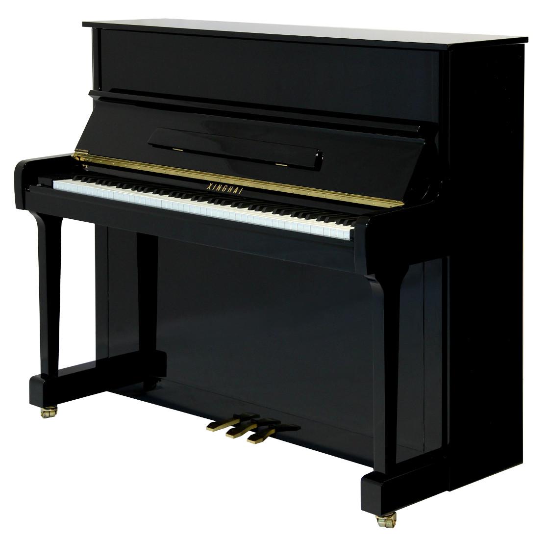 Piano Xinghai 120 v čiernom lesklá farbe
