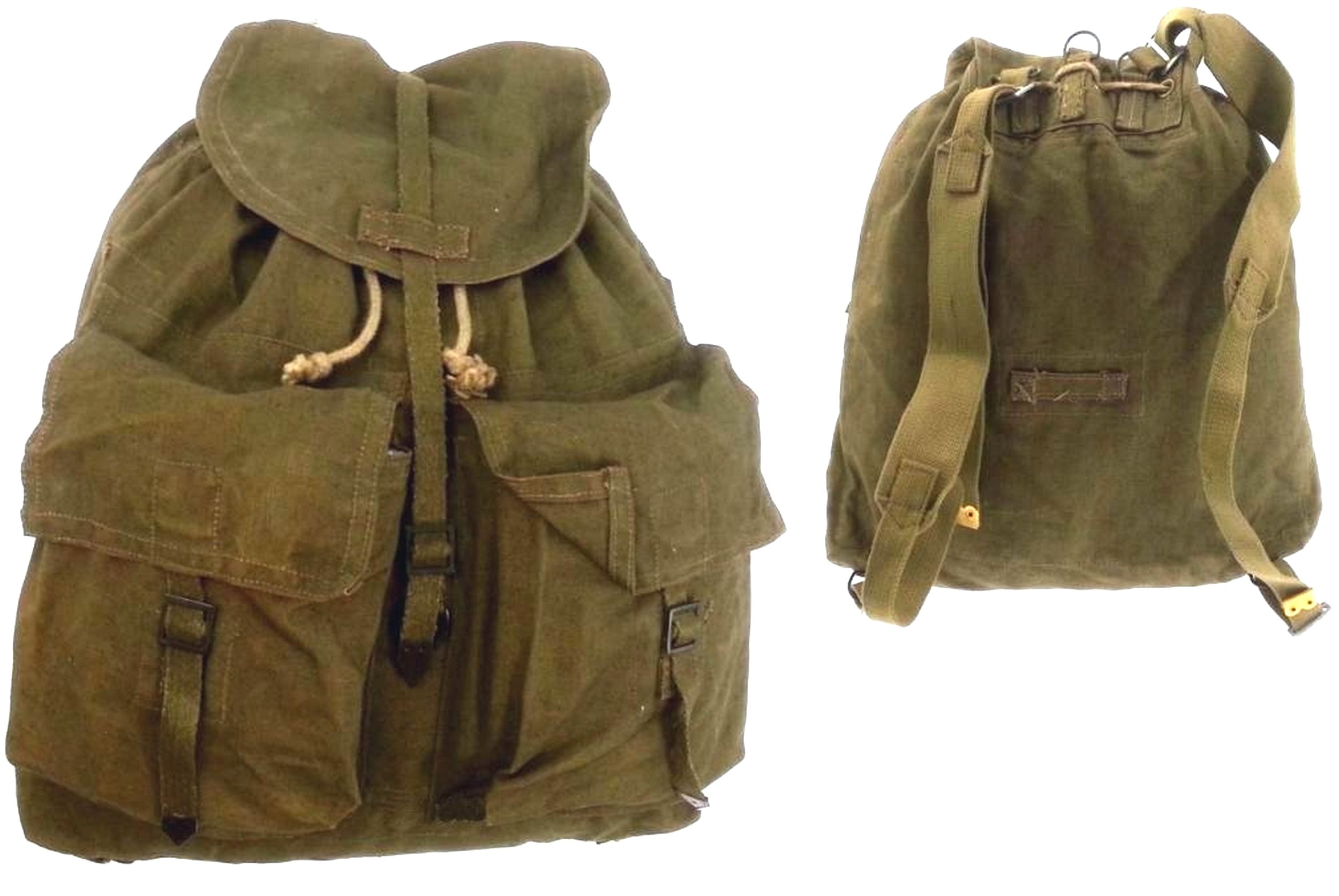 Vojenský BACKPACK M60 RETRO VINTAGE khaki originál