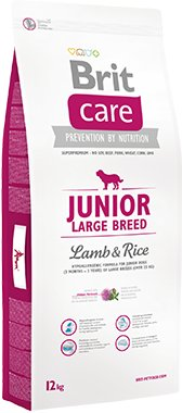 Brit Care Junior Large Lamb Rice 12kg