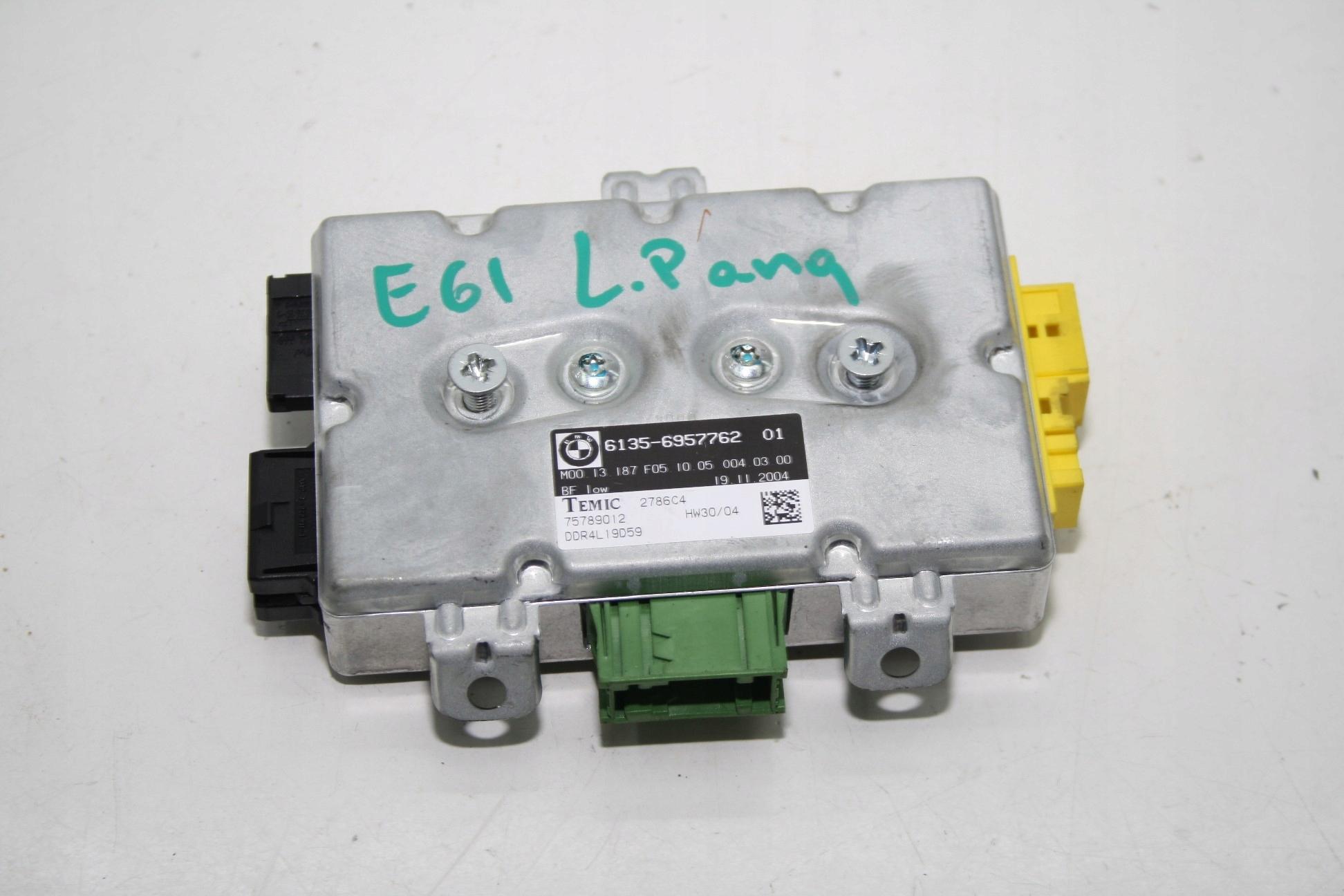 модуль драйвер двери правый вперед bmw e61 6957762