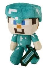 MINECRAFT STEVE PLUSH TOY MASCOT FIGURE CREEPER