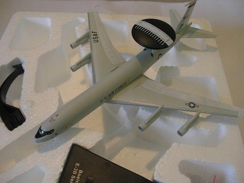 Boeing E-3B SENTRY 1:200 -Эра Самолетов - АТЛАС доставка товаров из Польши и Allegro на русском