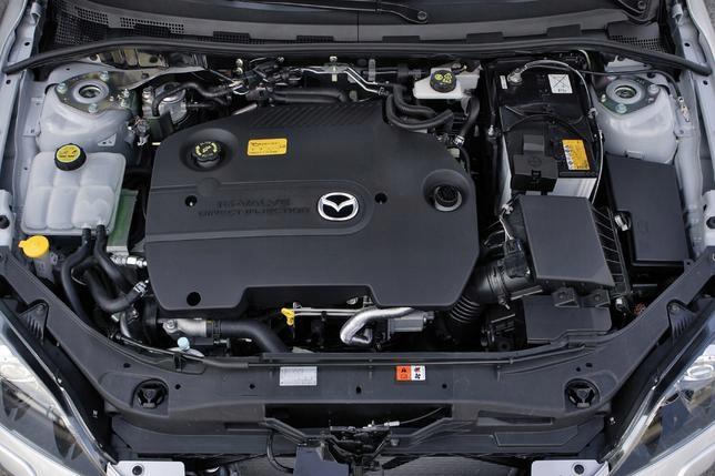 двигатель mazda 3 5 6 rf7j 20d f-vat 12 m-cy gw