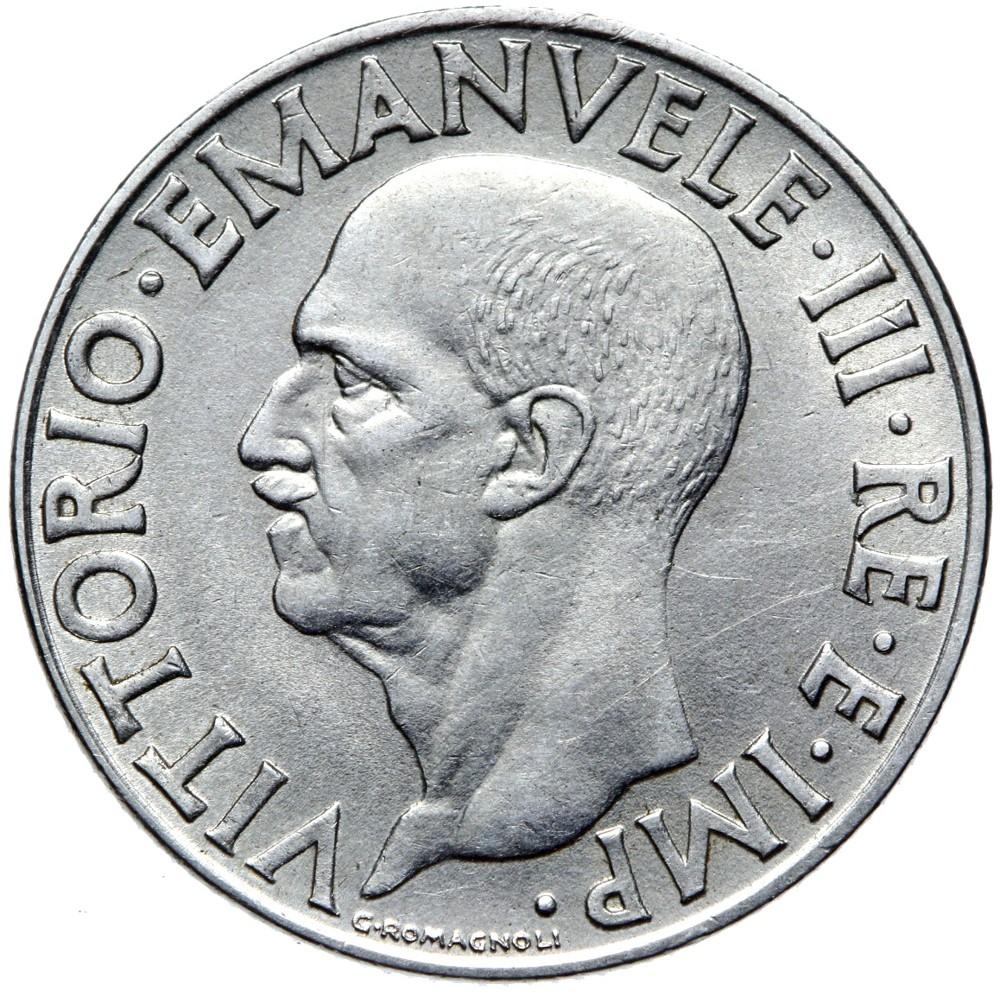 Taliansko - 1 LIR 1940 - XVIII - magnetické