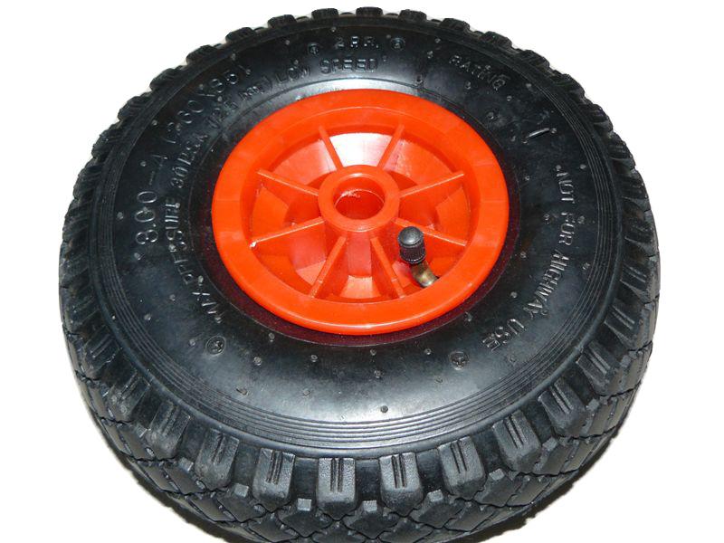 Колесо колесо для тележки 260 мм, колесо тачка поли