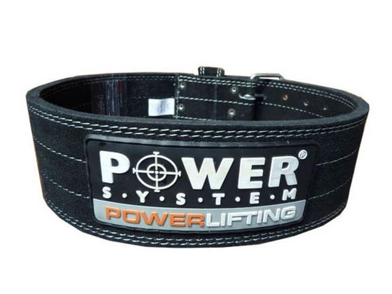 Napájací systém Powerlifting Kožený pás Silný