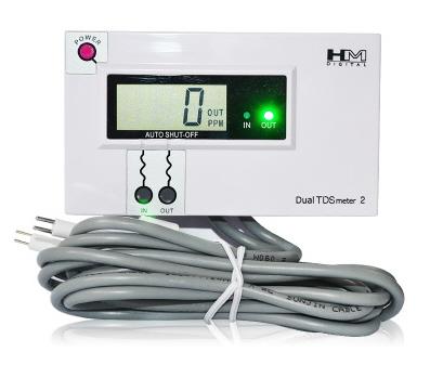 Profesionálne TDS Meter DM2 dual ocele monitorin