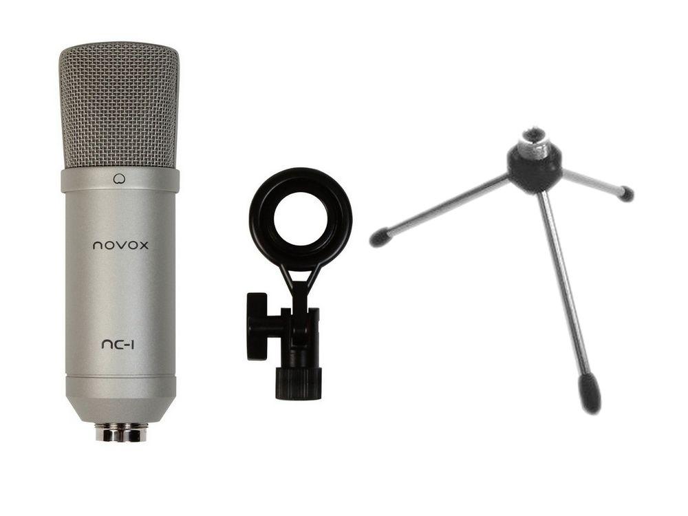 Novox NC-1 S USB Kondenzátorový mikrofón + STAT MS2