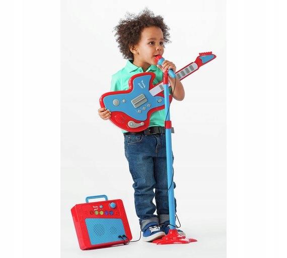 Karaoke Guitar, mikrofón a zosilňovač pre dieťa