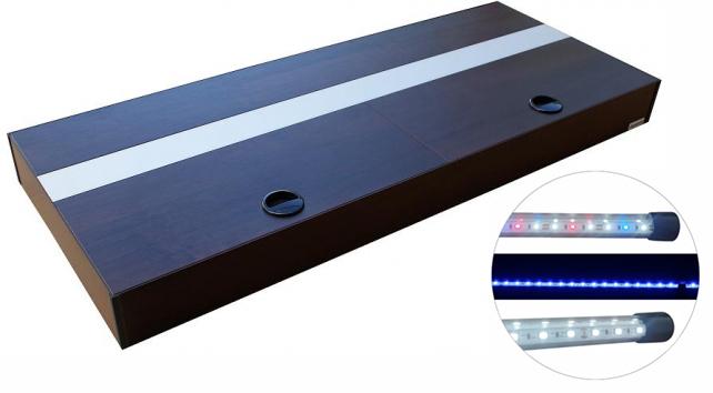 HLINÍKOVÝ KRYT LED 2x42W 200x60cm 17 FARIEB