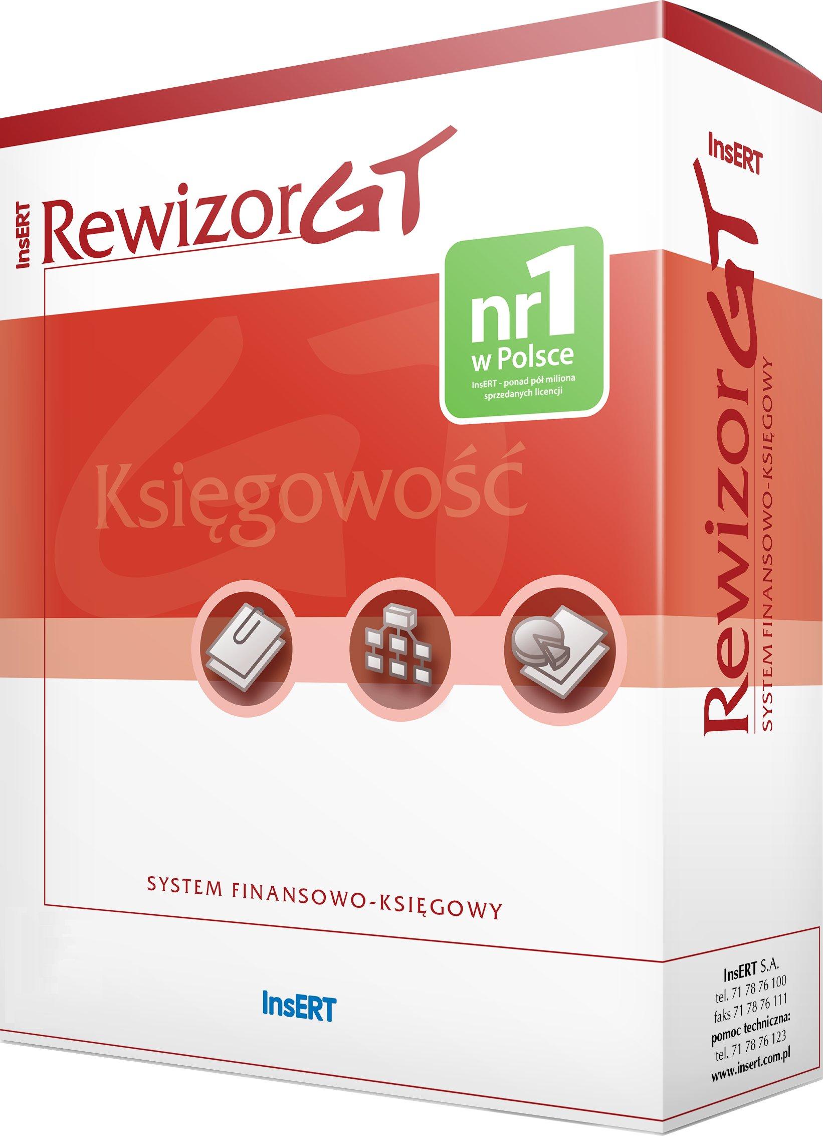 Купить InsERT Ревизор GT, финансы полный бухгалтерский учет на Otpravka - цены и фото - доставка из Польши и стран Европы в Украину.