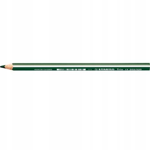 Kredka ołówkowa Stabilo Trio zielona ciemn 203/520