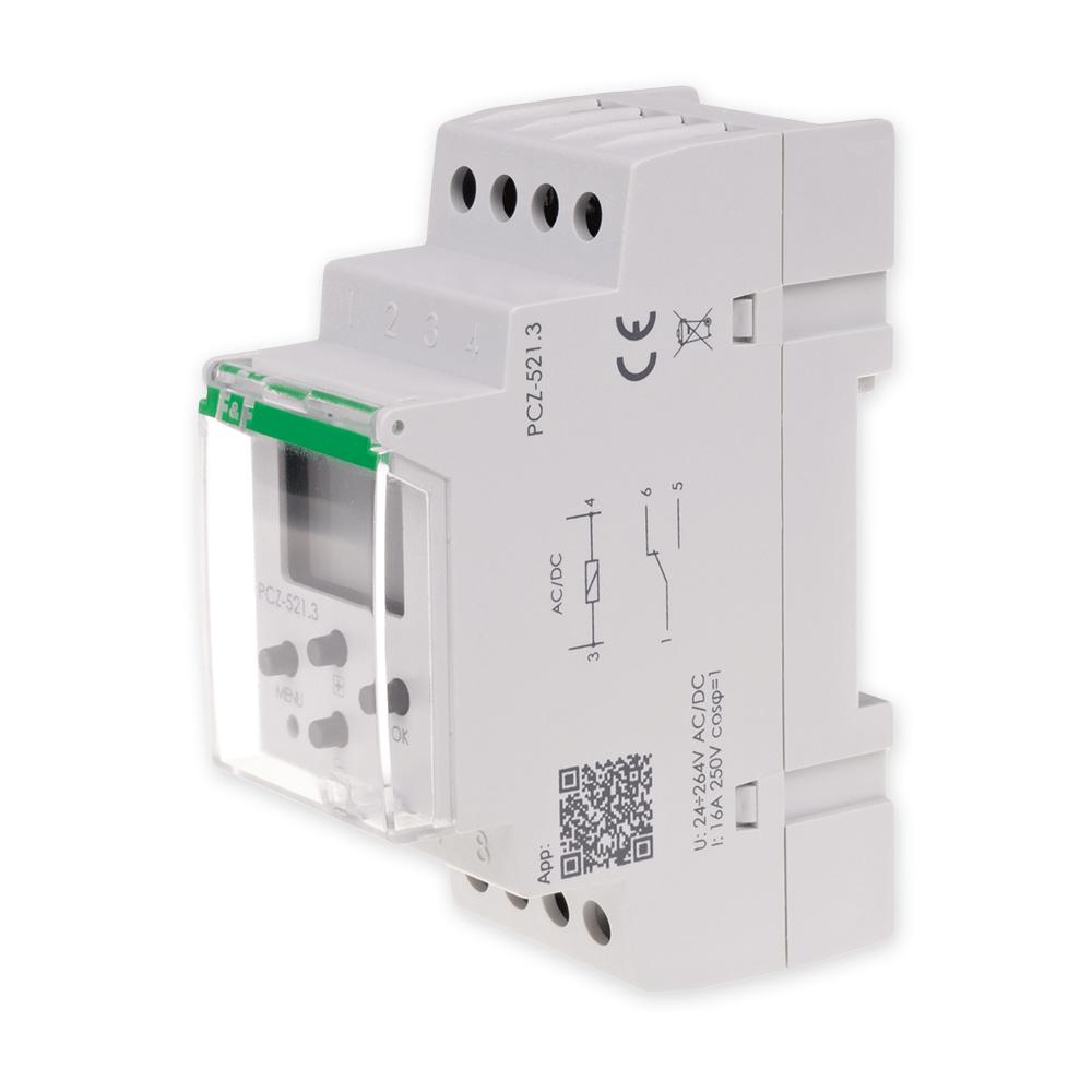 F&F PROGRAMATOR ZEGAR CZASOWY Z NFC PCZ-521.3