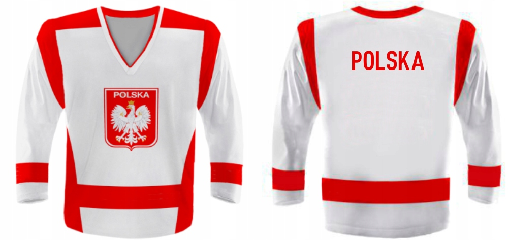 Ventilátor mikina s hokejkou na bunde Poľsko