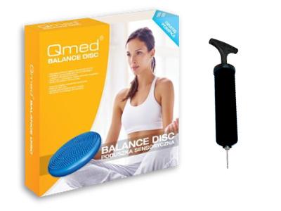 Vankúš na cvičenie fitnes senzorická baretka Qmed