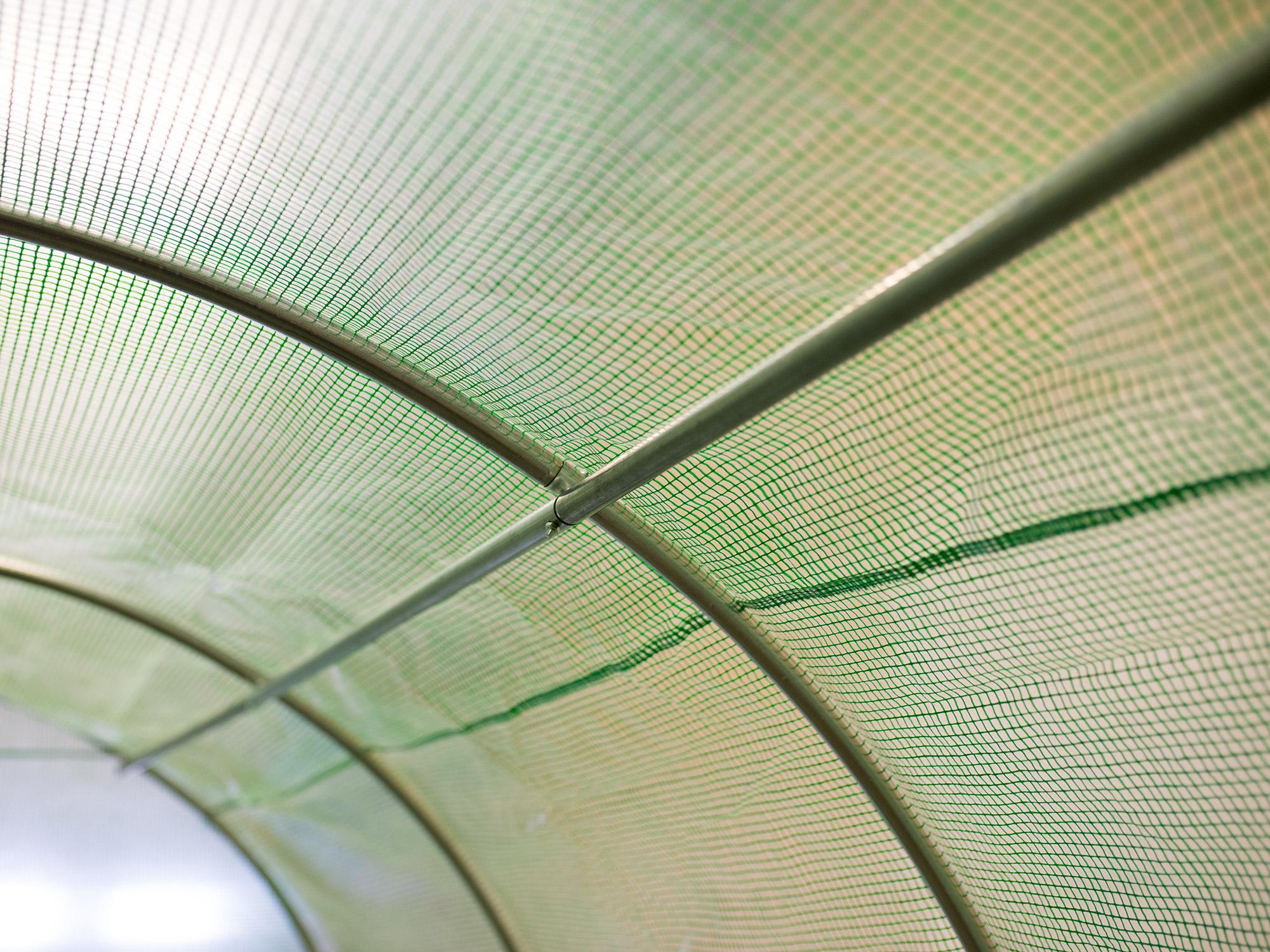 Folia ZAMIENNA 2x3,5m na tunel ogrodowy 7m2 Wysokość 200 cm