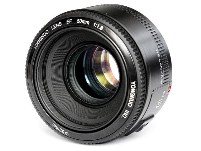 Item Lens Yongnuo YN-50mm F1.8 Canon EOS AF MF