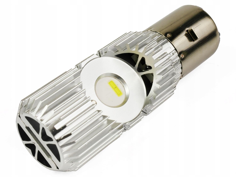 Żarówka BA20D 35/35W S2 LED 1800LM MOTOCYKL SKUTER