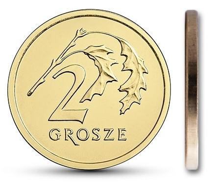 2 гр. пенни 2020 MW монетный двор