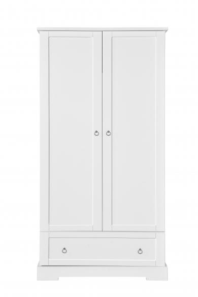 Novelies Retro Szafa 2 drzwiowa młodzieżowa biała
