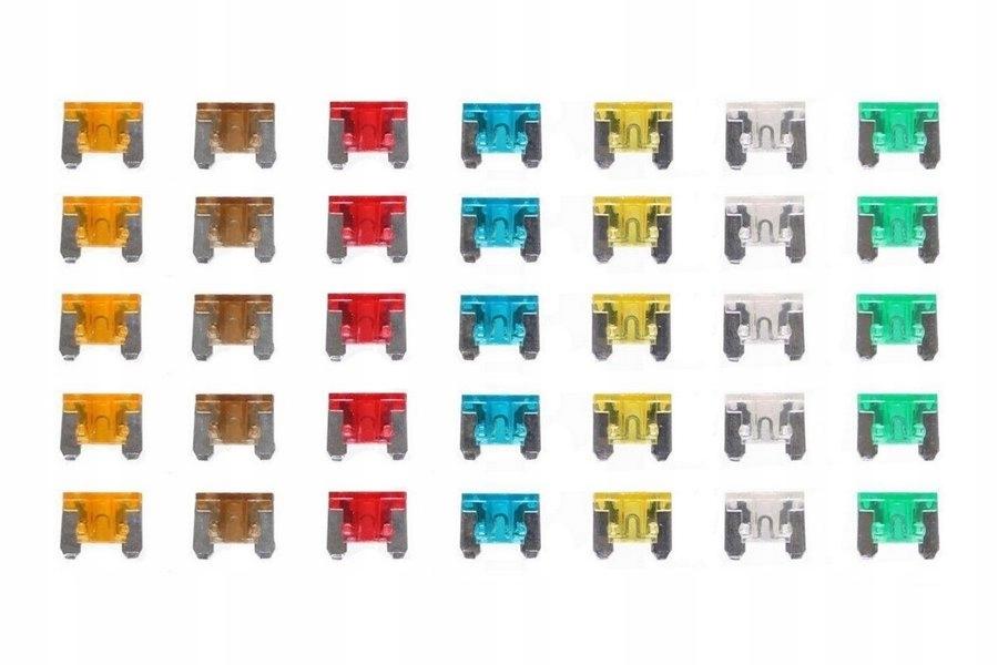 предохранители пластинчатые мини низкий профиль 35 штук