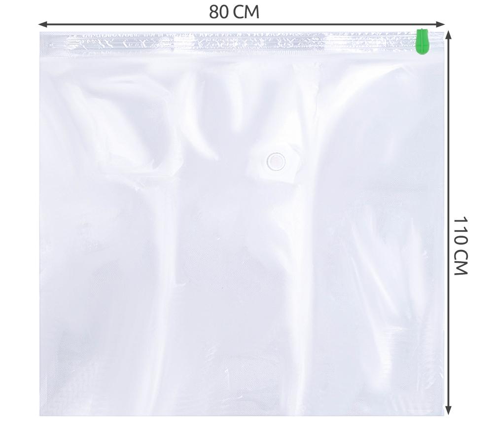 Worek Próżniowy Worki Pokrowiec 110x80cm do Ubrań EAN 5902020208525