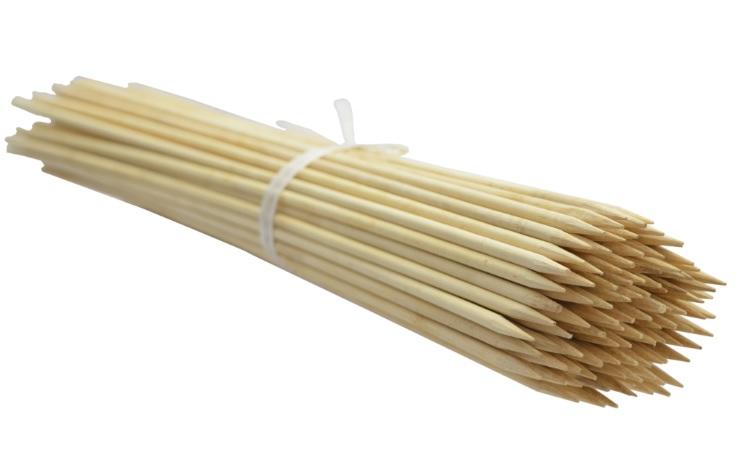 Bambusové kolíky 35 cm 4.5 mm /5000шт/ b.lupan