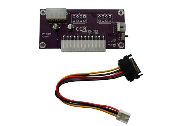 Item Power adapter Dual PSU ATX power 24
