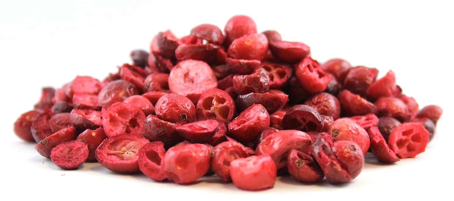 Item LIO CRANBERRY whole freeze-dried to 100g quality
