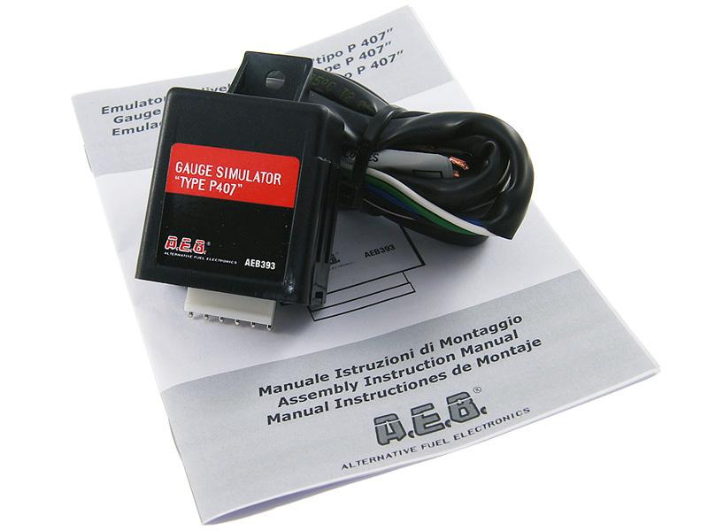 aeb 393 эмулятор показания уровня топлива peugeot