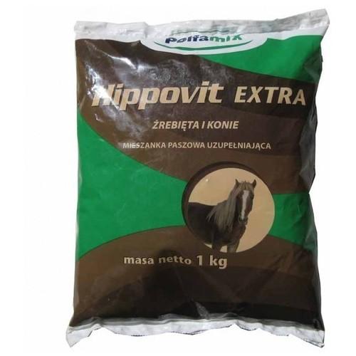 ПОЛЬФАМИКС ХИППОВИТ Экстра витамины для лошадей 1 кг