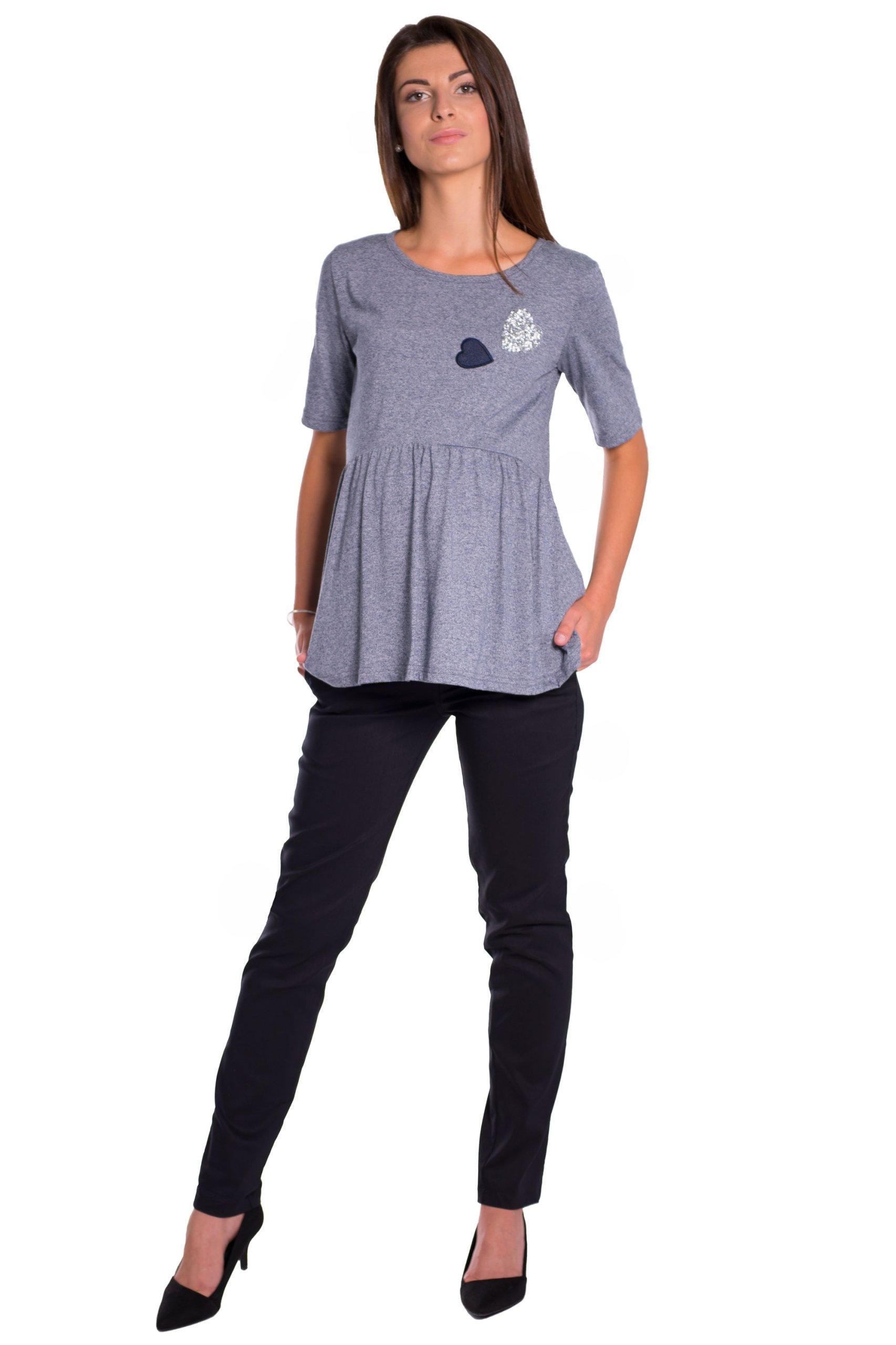 Tunika bluzka ciążowa rozkloszowana 3891 Oasi XL