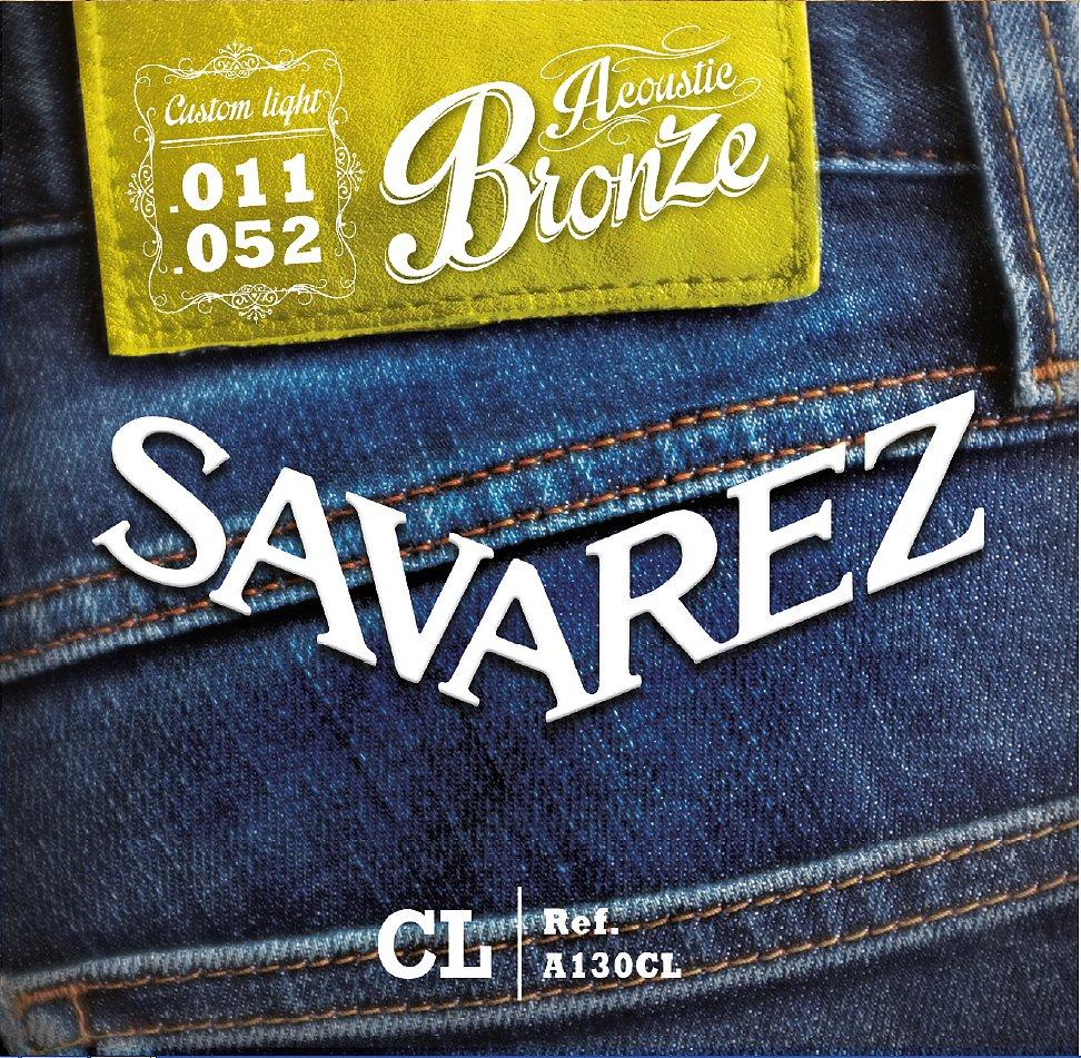 Savarez A130CL 11-52 Akustické gitarové reťazce