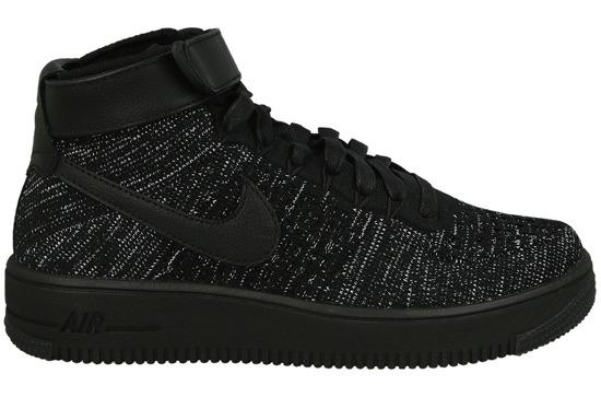 Buty damskie Nike Air Force 1 Flyknit Low Różowy Ceny i