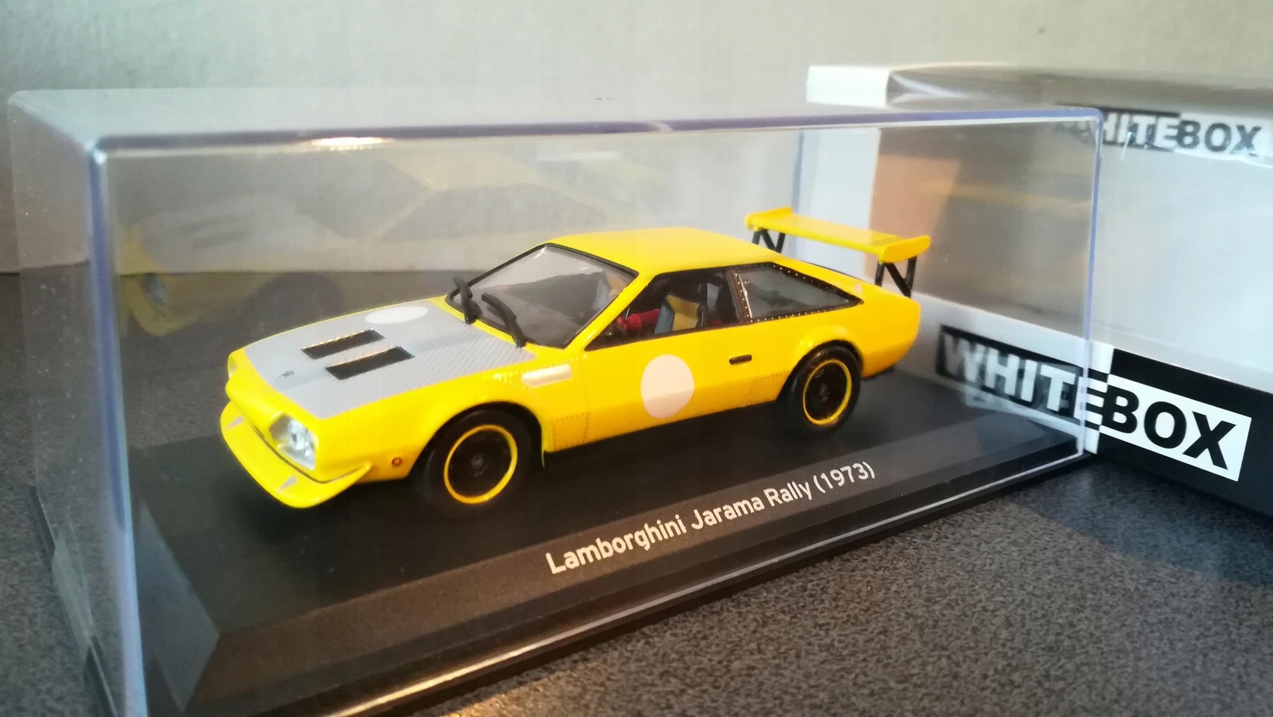 Lamborghini Jarama Rally 1 43 Whitebox 7598905212 Oficjalne