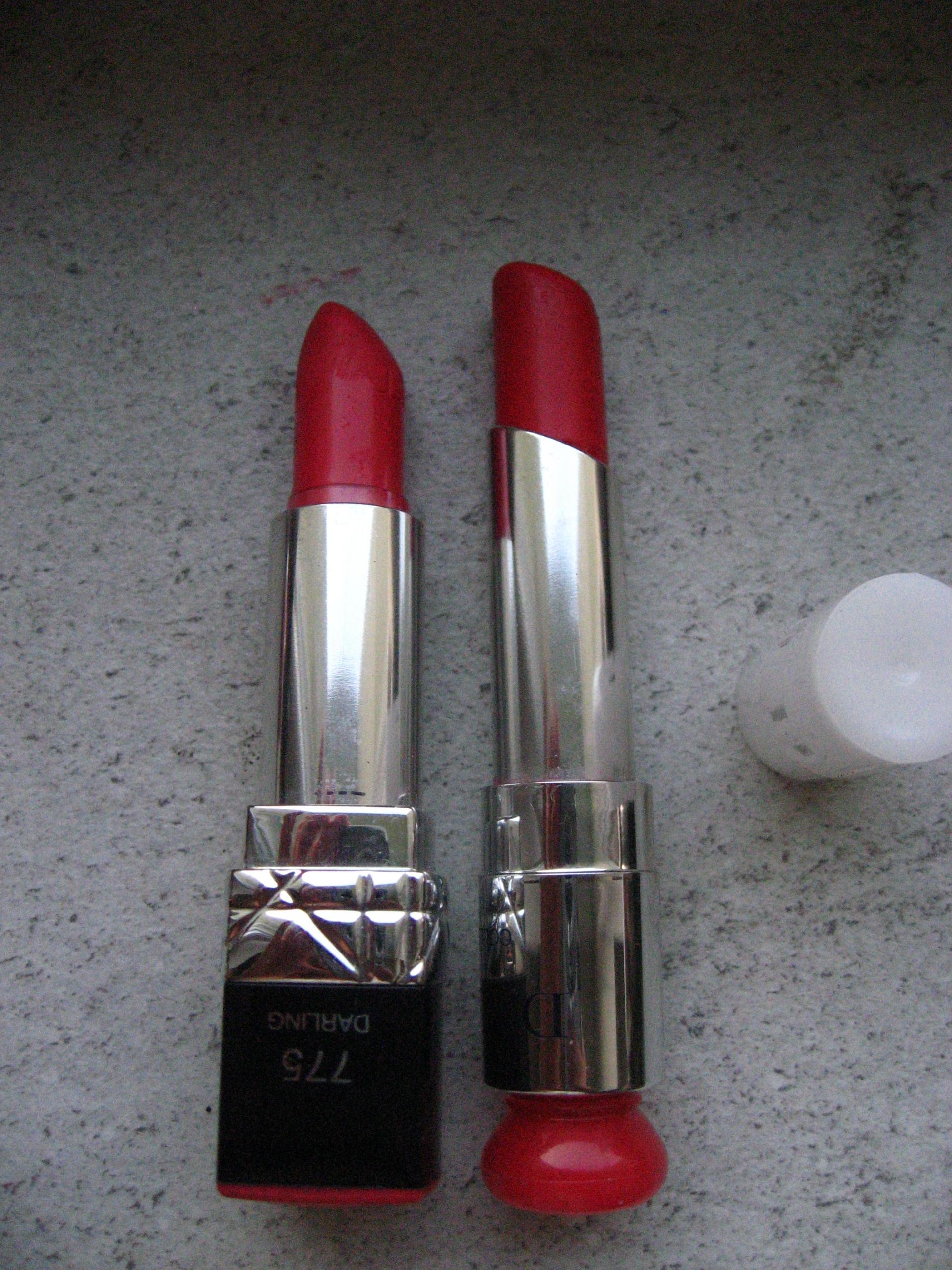 Pomadka Dior 775 + Dior 865 - zestaw
