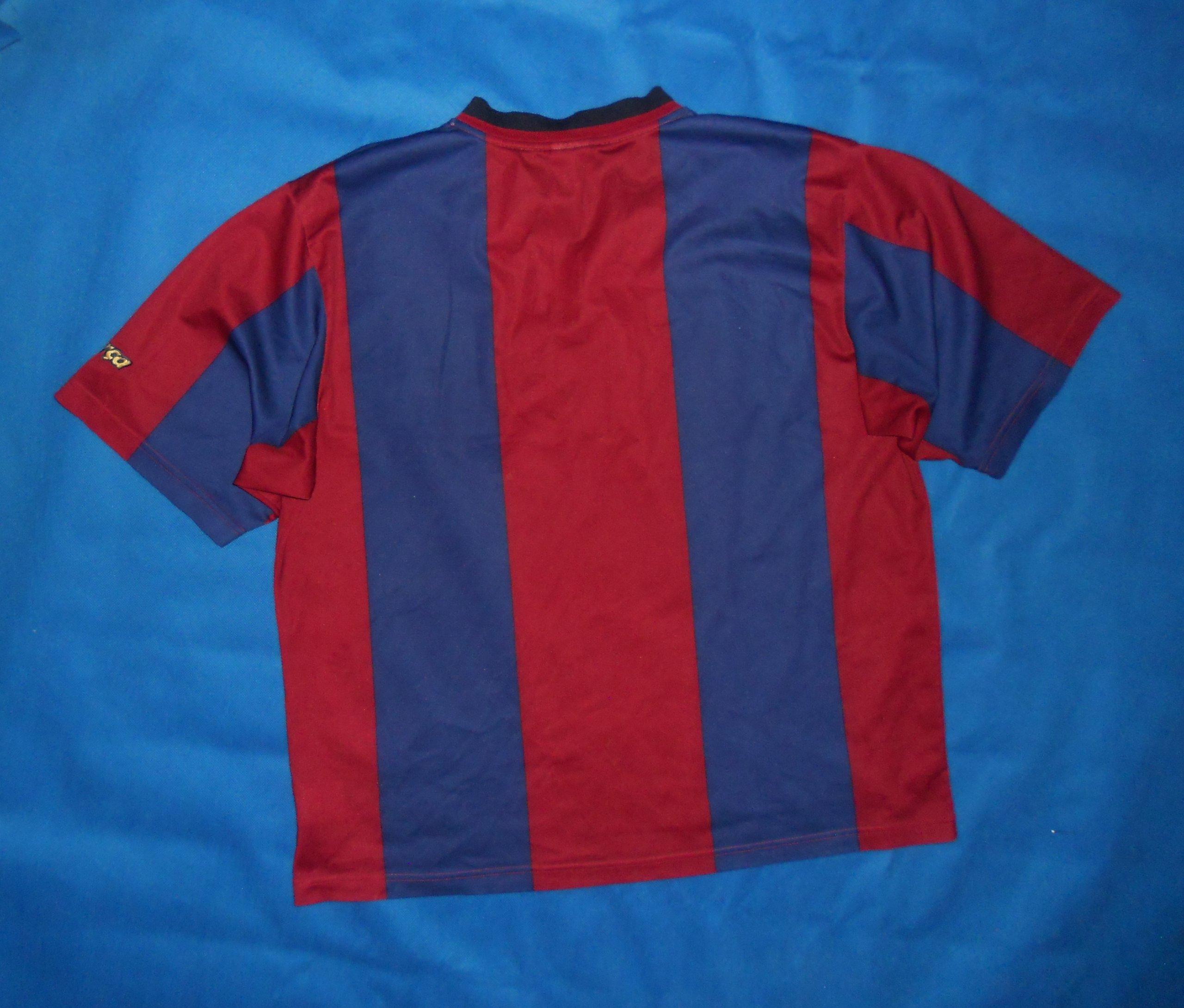e9a0c6786 FC Barcelona Nike Home Shirt 1998 99 Unikat XL - 7464604155 ...
