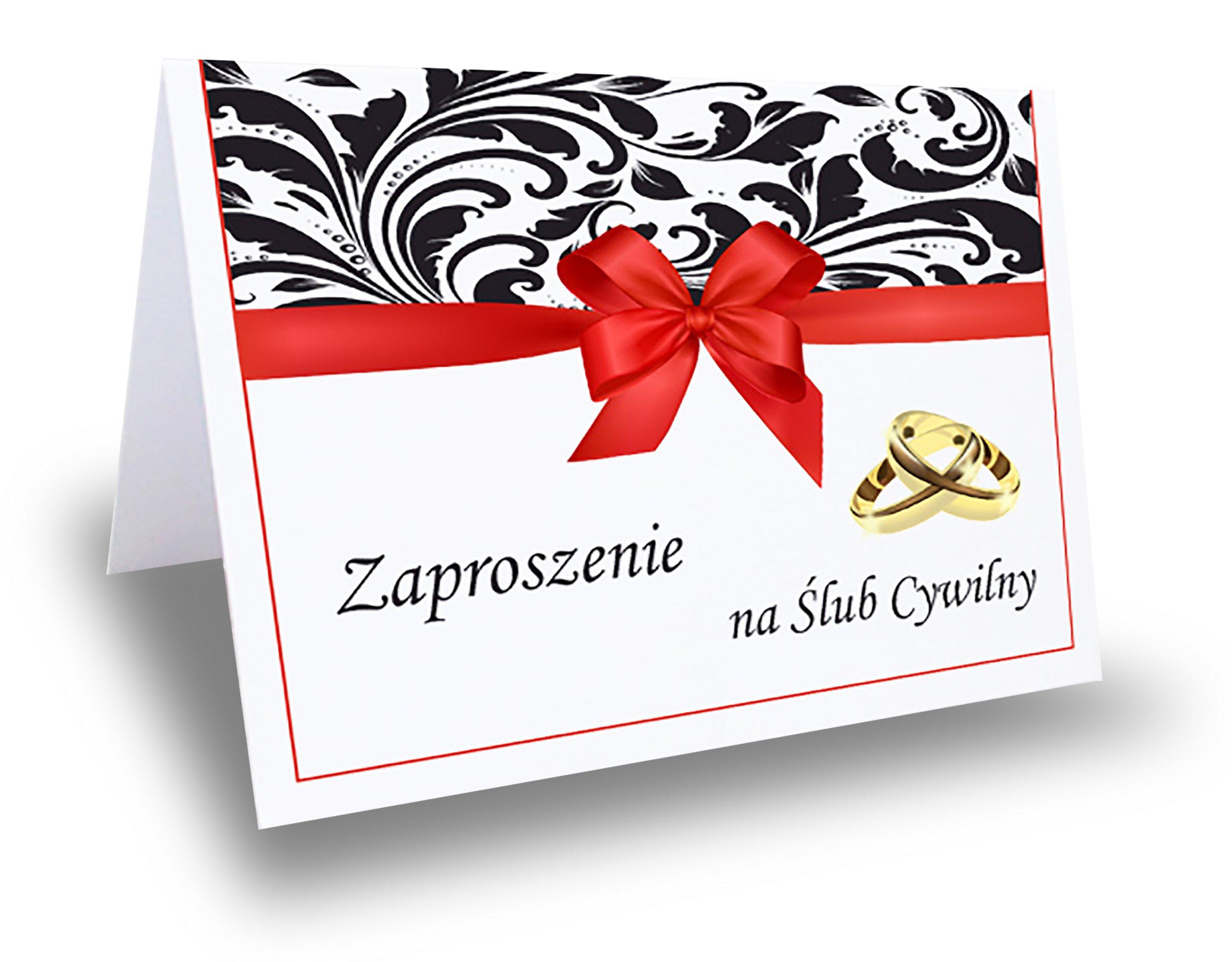 Zaproszenie Zaproszenia Na ślub Cywilny 6983390523 Oficjalne