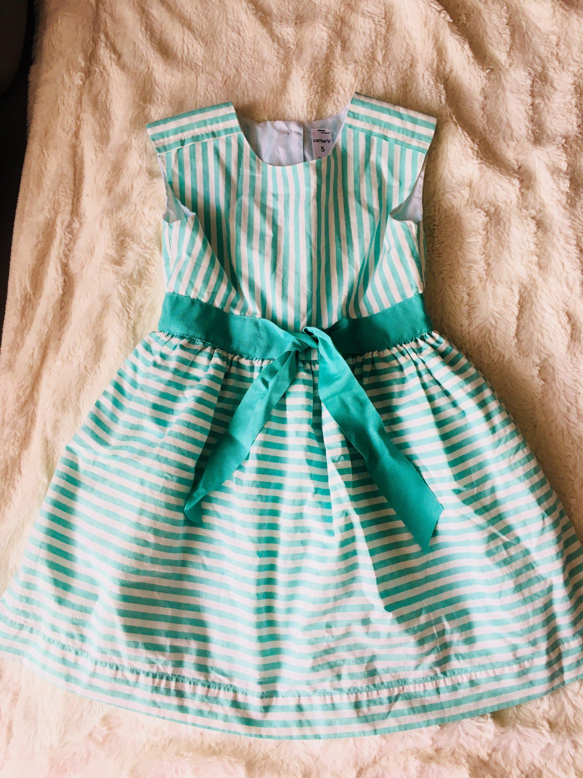 94a6fa1935 Sukienka w pacy - Carter`s - 7348198454 - oficjalne archiwum allegro