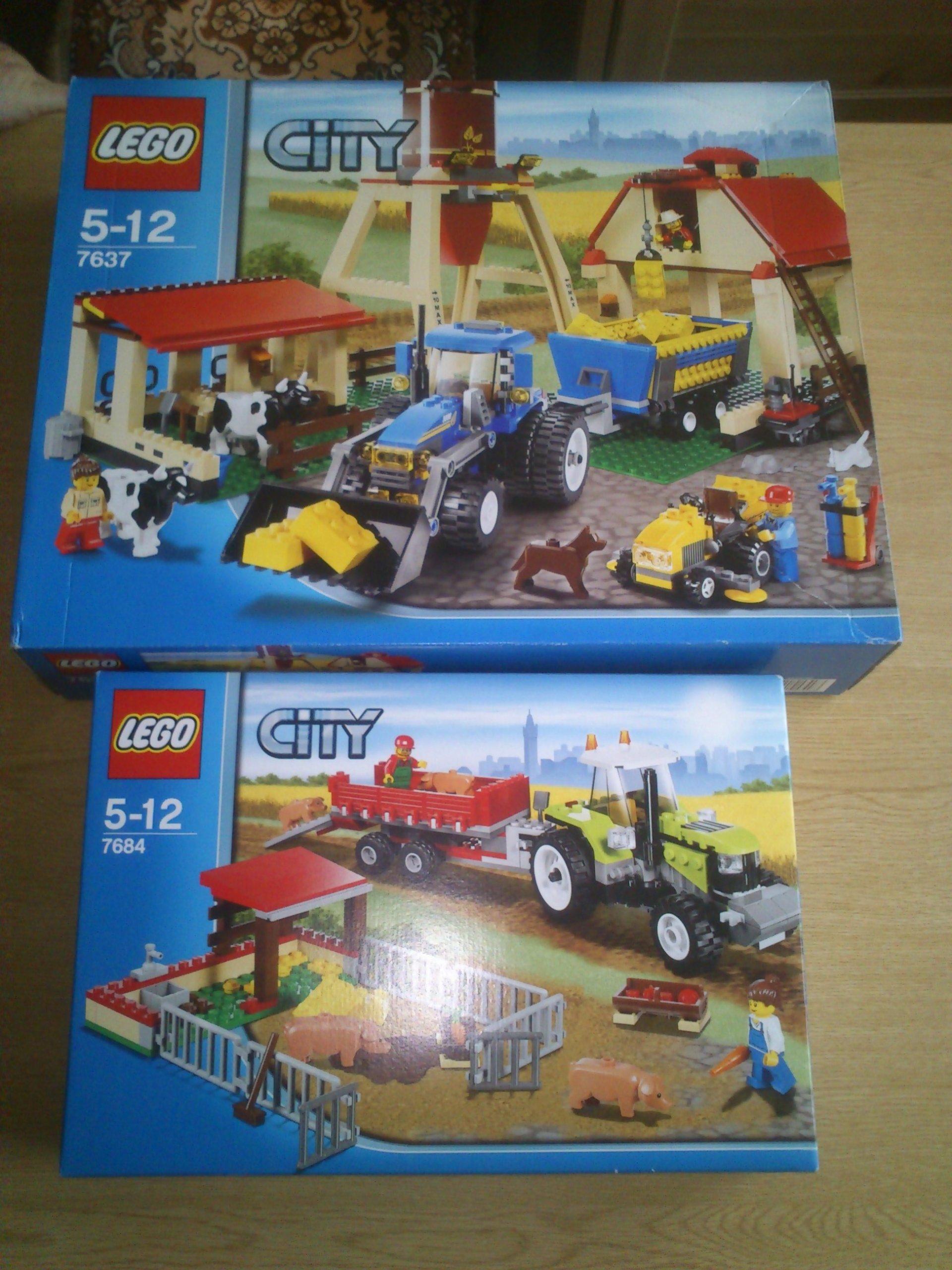 Lego Farma 7637 7684 7636 Nowe Megaunikaty 7284363852 Oficjalne
