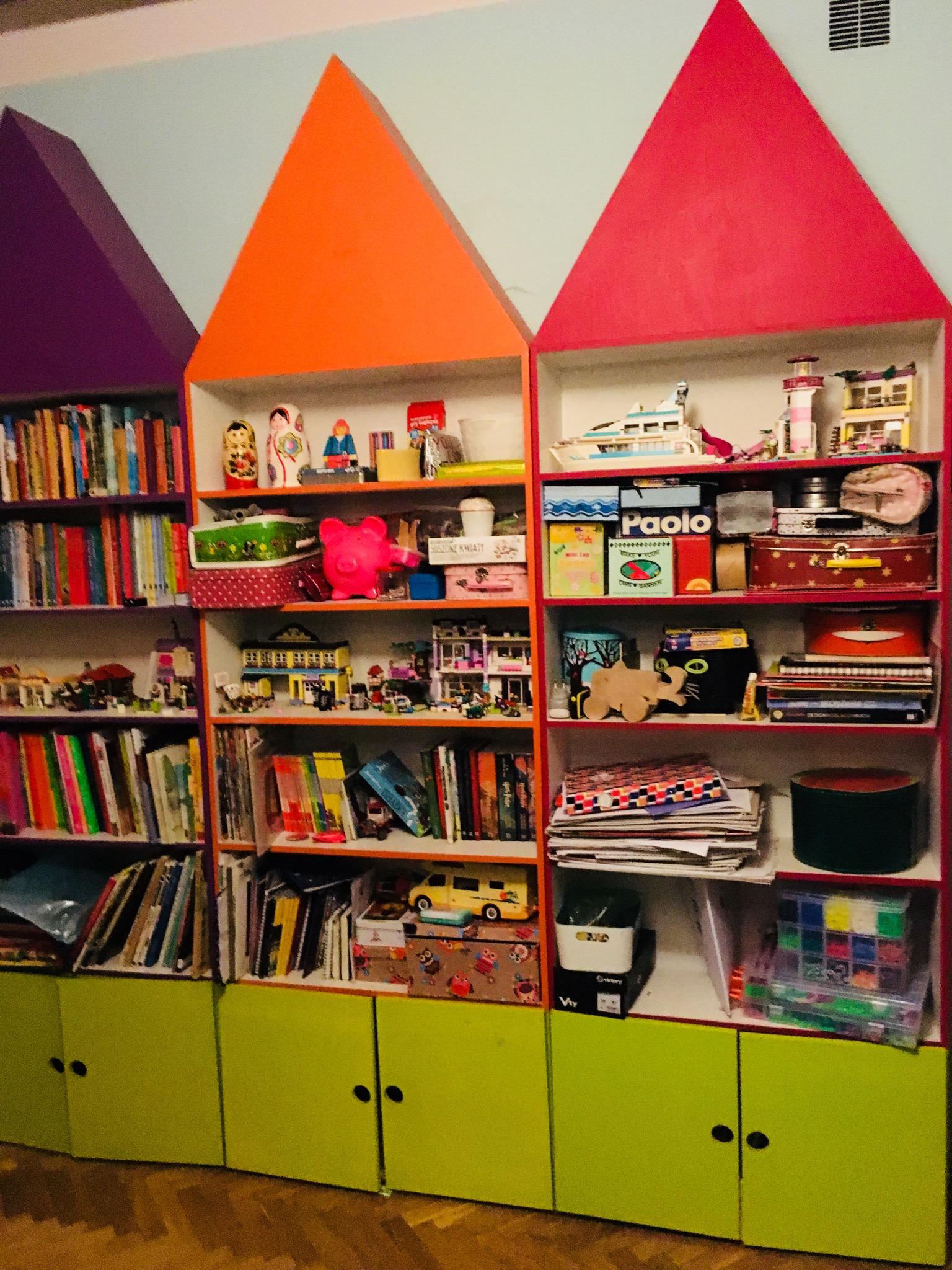 Półka Regał Szafka Na Książki Zabawki Dla Dziecka