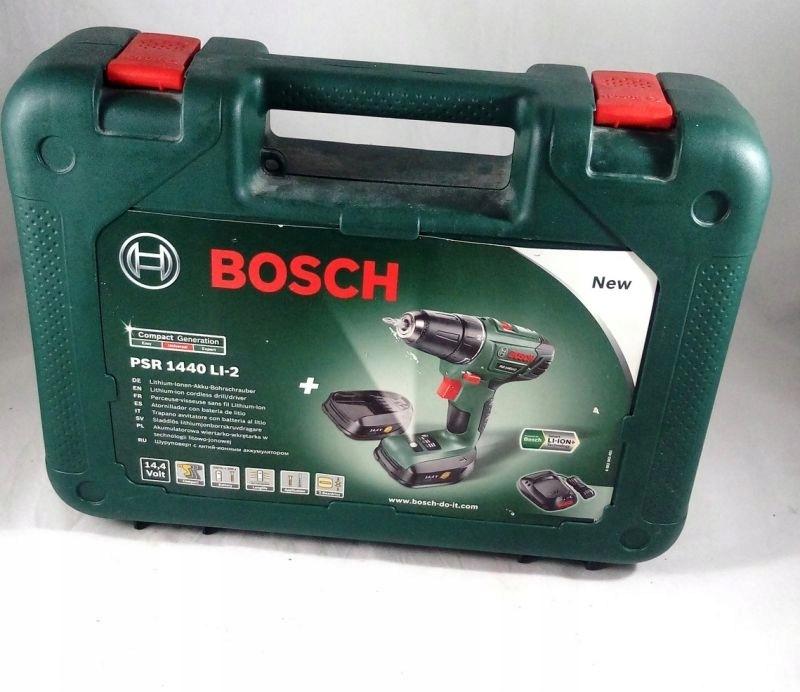 Voorkeur WKRĘTARKA BOSCH PSR 1440 LI-2 KOMPLET - 7550138219 - oficjalne FT86