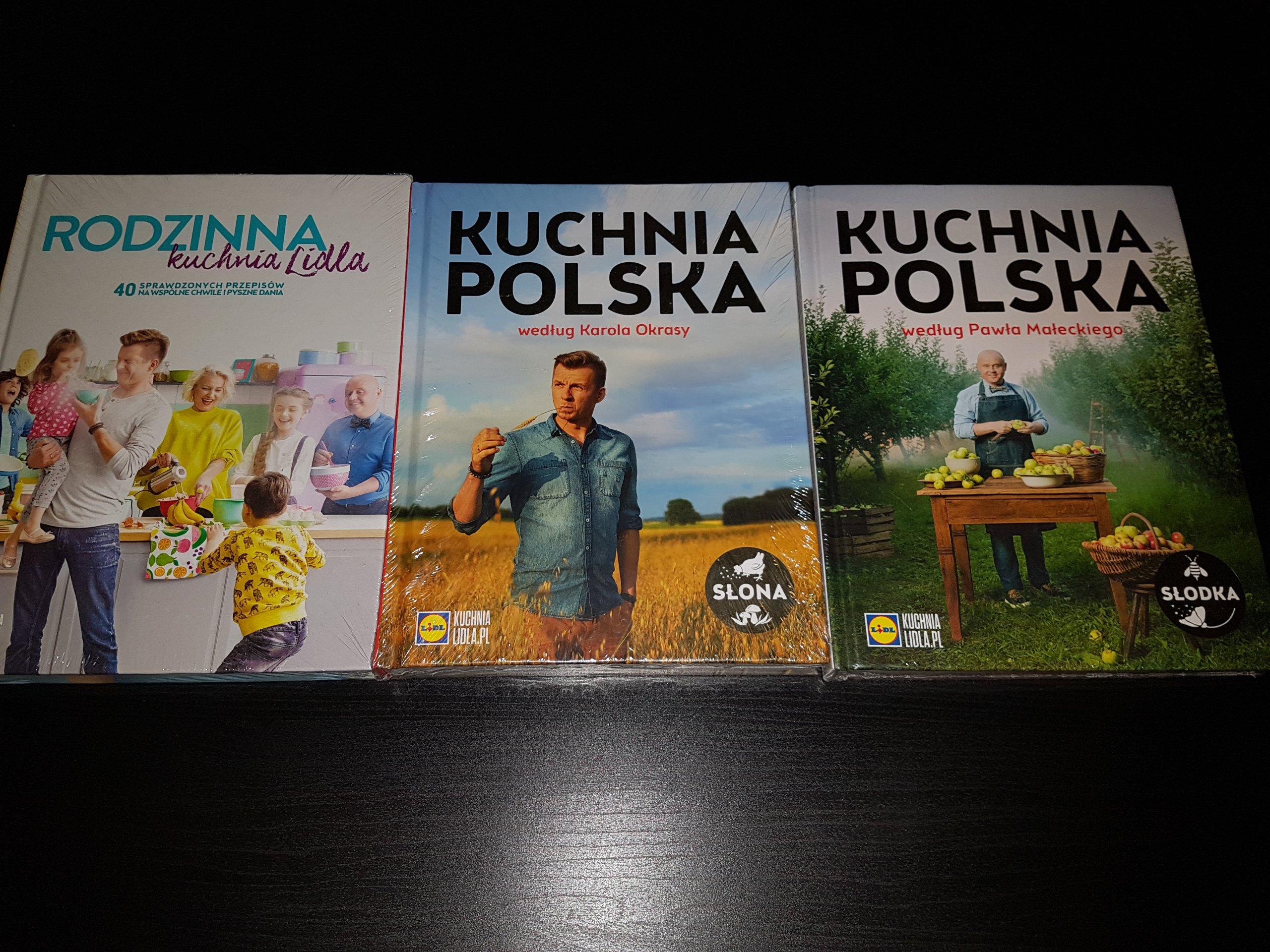 Książki Lidl Zestaw Nowe Kuchnia Słona I Słodka