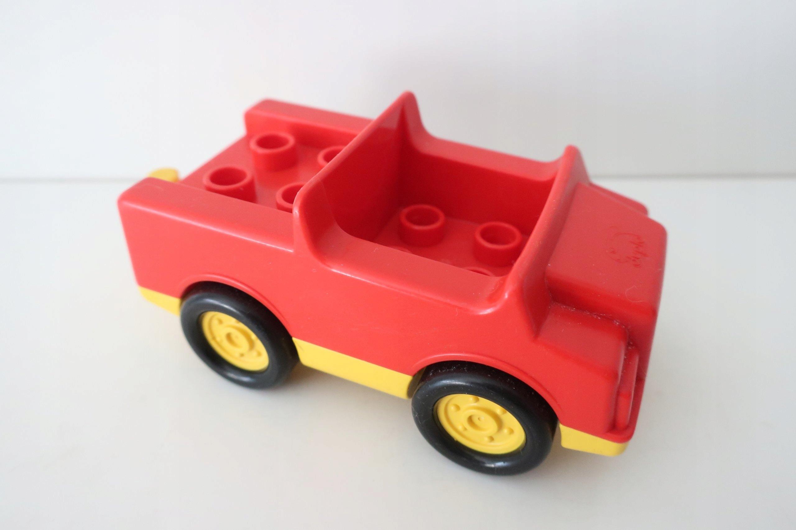 Kt Lego Duplo Autko Czerwone 7396358706 Oficjalne Archiwum Allegro