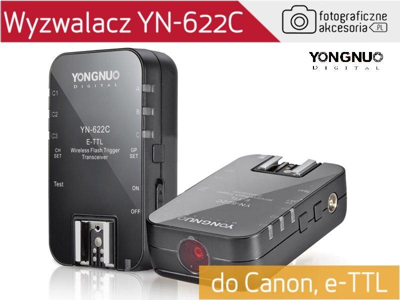 Yongnuo YN-622C zestaw 2 nadajników/odbiorników GW