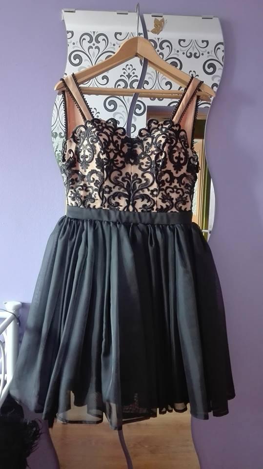 7026befffe Sukienka wieczorowa KAREN Lou - 7405387299 - oficjalne archiwum allegro